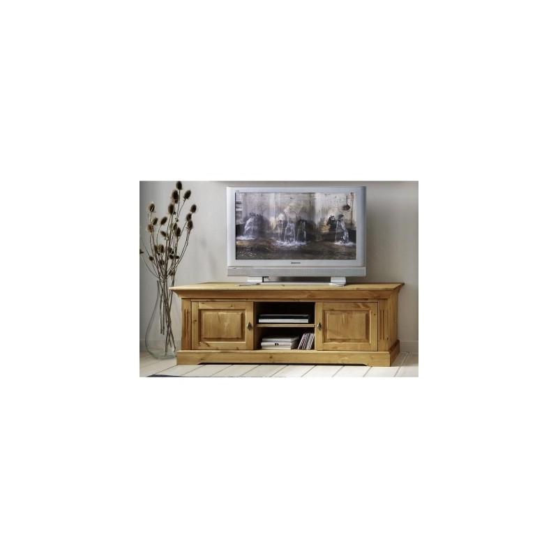 Grand meuble TV en pin massif