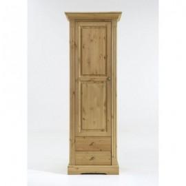Petite vitrine porte en bois
