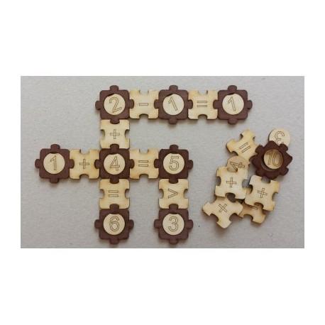 Puzzle mathématique