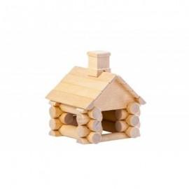 Chalet 31 pièces en bouleau - Varis Toys