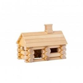 Chalet 35 pièces en bouleau - Varis Toys