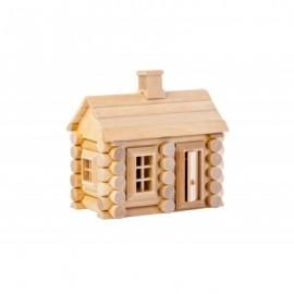 Chalet 55 pièces en bouleau - Varis Toys