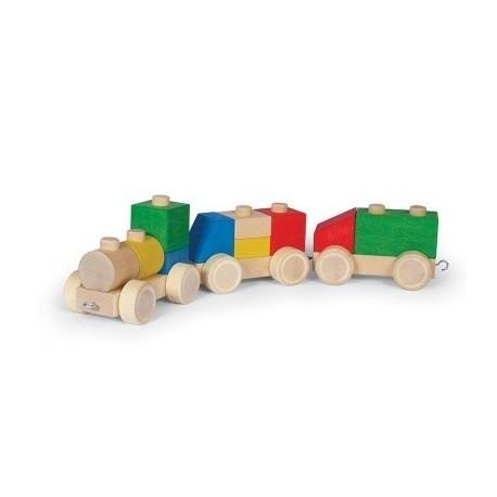 Train en bouleau - Varis Toys